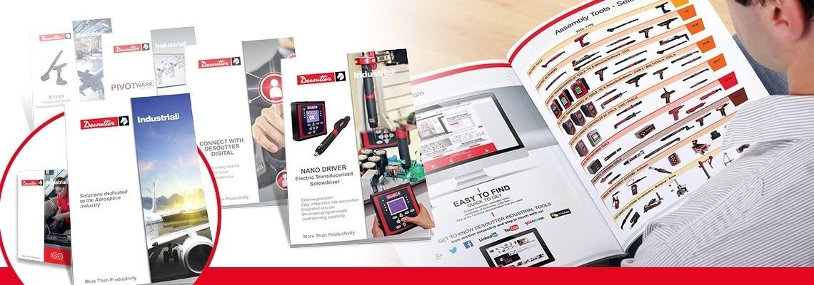 Desoutter Industrial Tools Catalogs & Leaflets