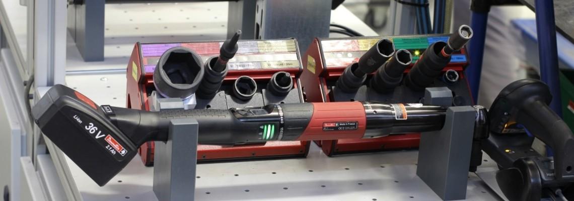 Mehr Qualität mit weniger Werkzeugen - Prozesssichere Schraubmontage bei Wolf Heiztechnik