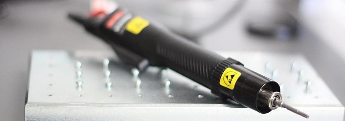 Ausgeklügelte Schraubstrategien für Montage elektronischer Geräte