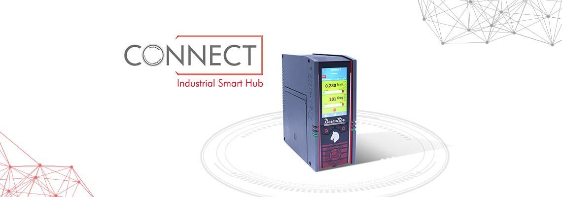 Der Industrial Smart Hub CONNECT von Desoutter revolutioniert die Montage