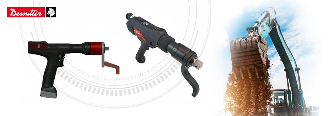 Akkuwerkzeuge für Schraubanwendungen bis 2000 Nm