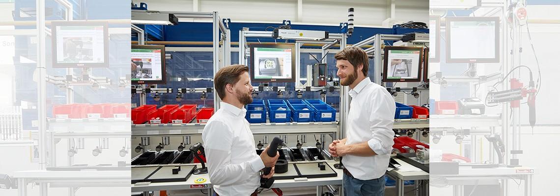"""""""In vielen Bereichen wird die digitale Werkerassistenz die Zukunft der Montage sein"""""""