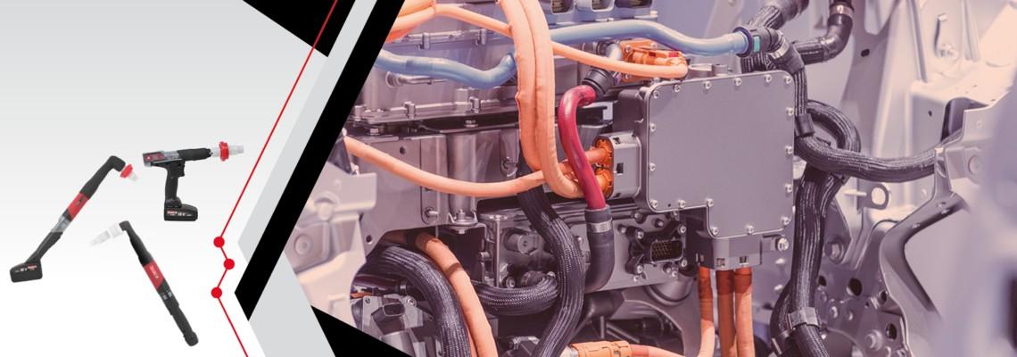 Schraubwerkzeuge und Lösungen für die Montage von Elektrofahrzeugen