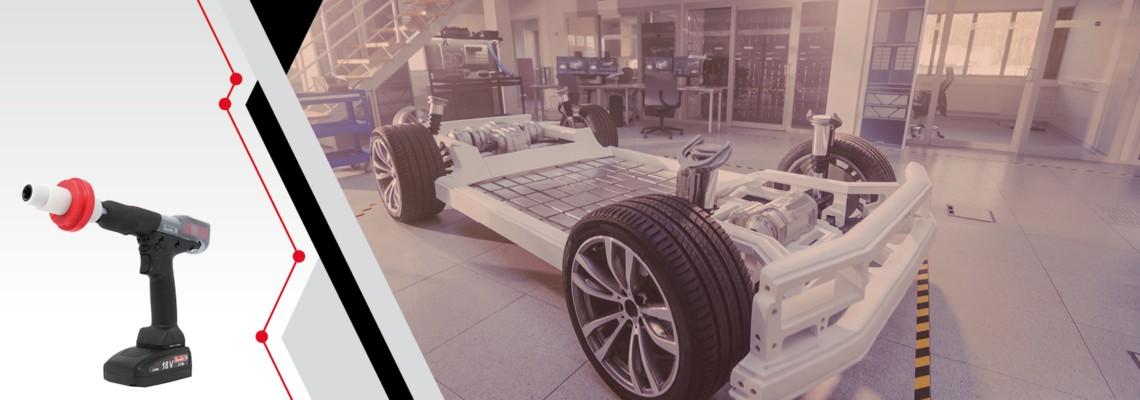 Was charakterisiert die Produktion von Elektroautos?