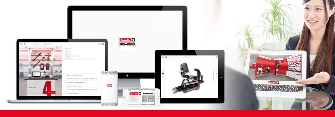 Laden Sie die Showroom-App herunter, um alle unsere Montage- und Bohrlösungen durch Bilder und Videos zu entdecken. Desoutter ist immer an Ihrer Seite - auch Offline.