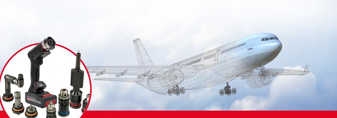 XPB unsere intelligentes Akkuwerkzeug für multiple Anwendungen in der Luft- und Raumfahrtindustrie