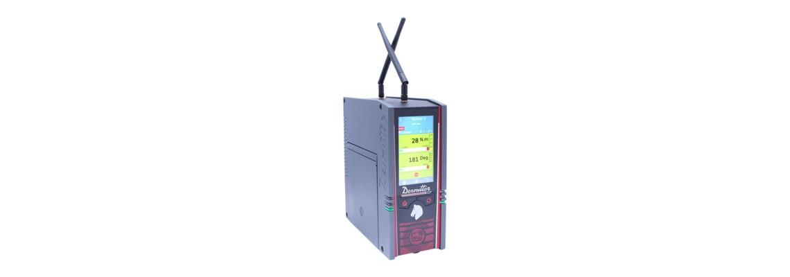 Zentrale Datenschnittstelle - Lösung für bis zu 10 kabellose Werkzeuge - Flexibilität und Skalierbarkeit durch Funktionsmanagement - Geringer Platzbedarf - Einfache Installation<br/>