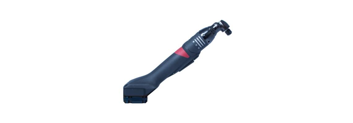 Sensorgestützes Werkzeug mit WLAN Schnittstelle zur Anbindung an CVI3 oder Connect<br/>Extrem kompakte Bauform ermöglich einhändige Bedienung des Werkzeugs<br/>