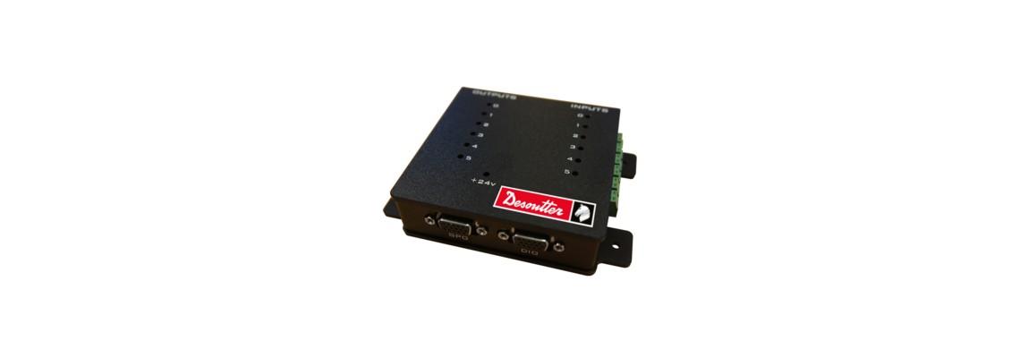 Einfache I/O-Box zum Anschluss von Stationsgeräten<br/>