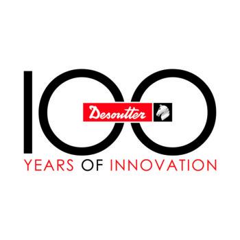Logo 100 Jahre Desoutter