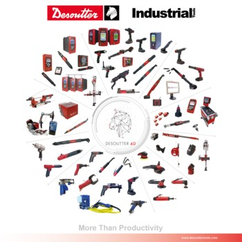 Desoutter Industrial Tools Produkt Poster