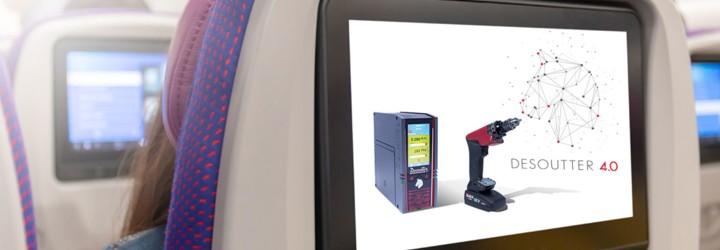 Desoutter 4.0 auf der Aircraft Interiors Expo - Die Innovationen und Highlights im Video