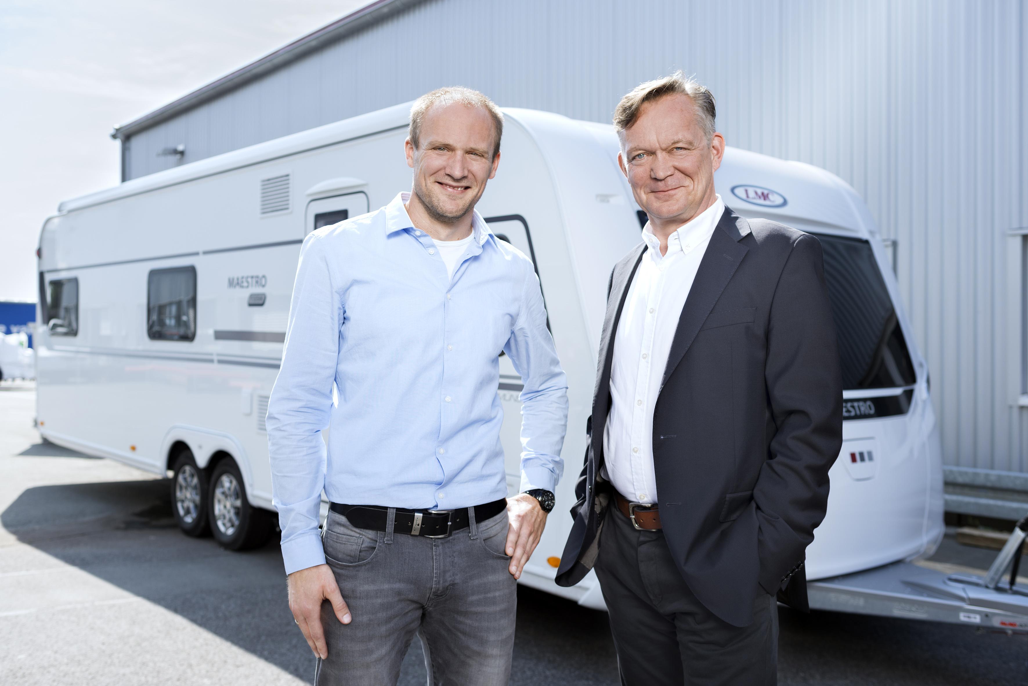 """Michael Schürmann (links) und Olaf Schmidt haben von Projektbeginn an """"sehr vertrauensvoll und partnerschaftlich zusammengearbeitet"""", wie beide bestätigen."""