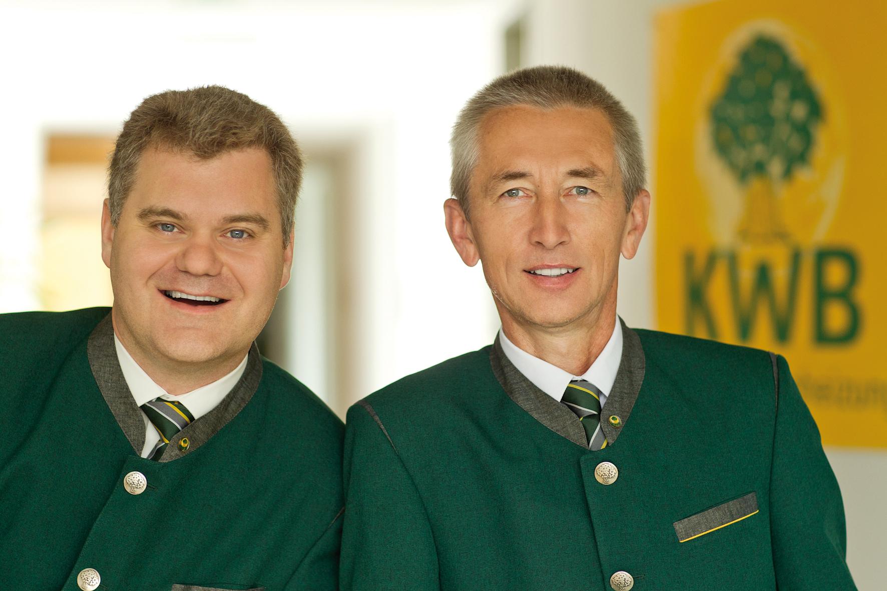 Stephan Jantscher und Erwin Stubenschrott